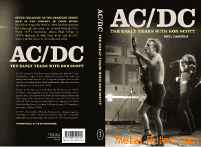 AC/DC - The Early Years & Bon Scott By Neil Daniels