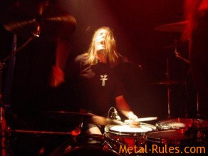 "TROUBLE drummer Jeff ""Oly"" Olson"