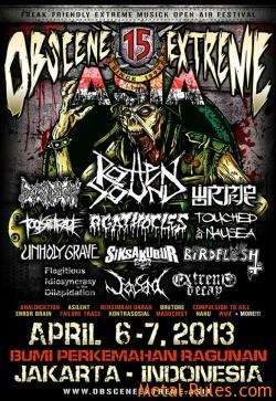 Obscene Extreme Festival Asia