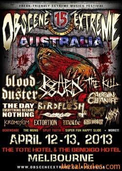 Obscene Extreme Festival Australia
