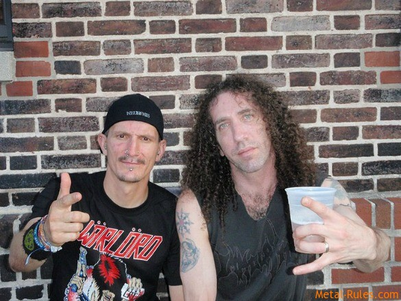 Curby with Dan Lilker (Anthrax, Brutal Truth, Nuclear Assault)