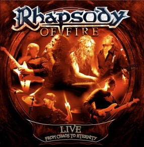 RHAPSODY OF FIRE To Release 'Live - From Chaos To Eternity' In May