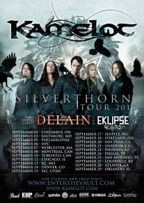 KAMELOT Announces 2013 North American Headline Tour!