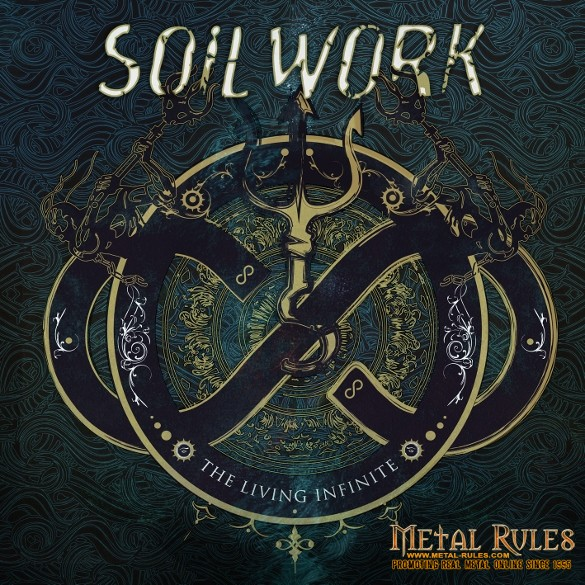 Soilwork - The Living Infinite - Artwork (585x585)