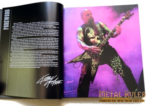 'Heavy Metal: From Hard Rock to Extreme Metal' - Kerry King forward