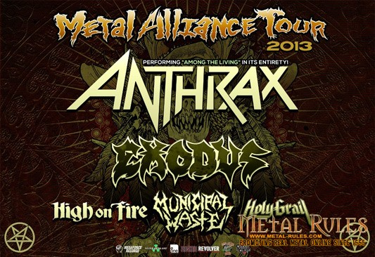 Anthrax Tour poster