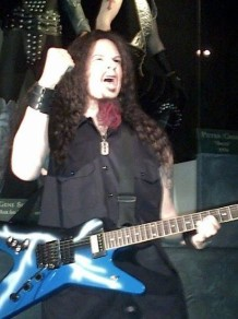 DIMEBAG DARRELL – Wax Figure At Rock Legend Wax Museum