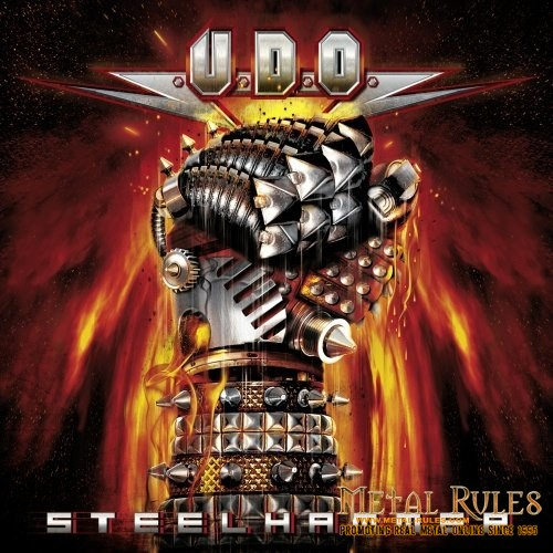 U.D.O.- Steelhammer Cover