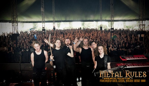 Leprous live with Ihsahn at Hellfest 2010