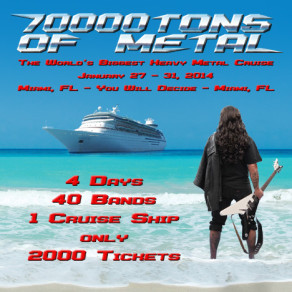 70000TONS OF METAL 2014