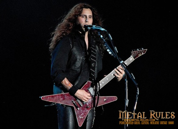 Gus G. on stage with Ozzy 2011