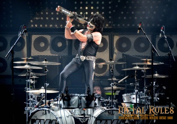 Eric Singer at London 2012