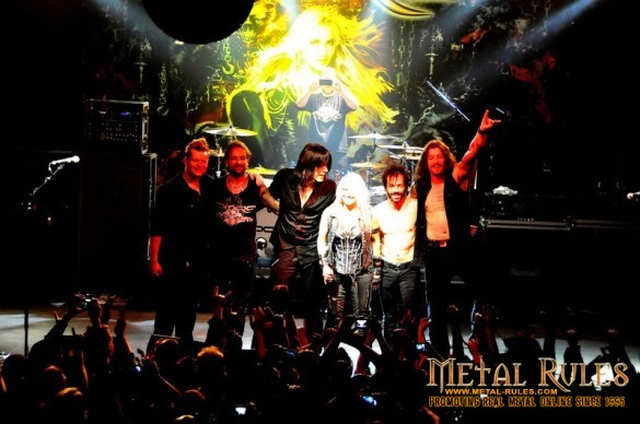 Doro and band