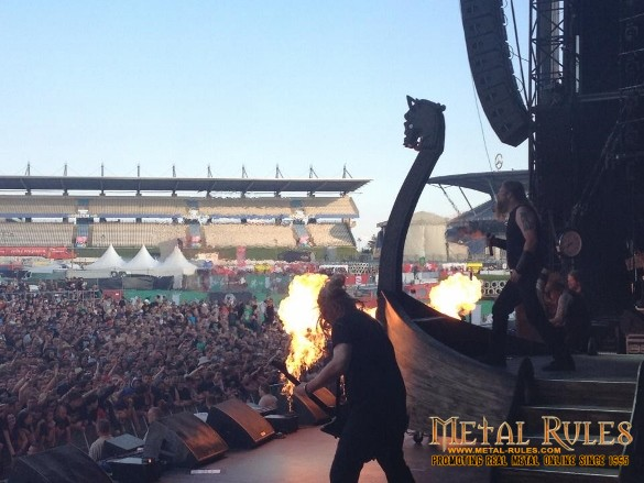 Amon Amarth live at Rock Am Ring