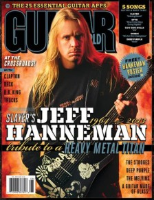 August 2013 issue of Guitar World magazine