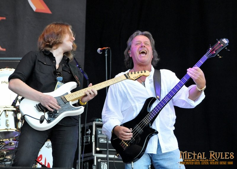 Sam Coulson and John Wetton