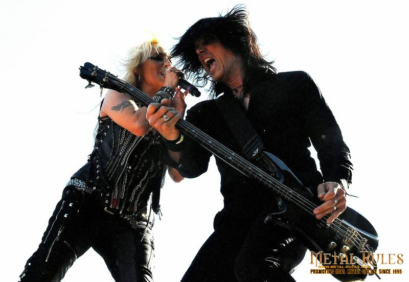 Doro and Nick Douglas