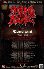 MORBID ANGEL To Play COVENANT In Its Entirety On Upcoming Tour