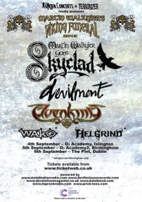 Martin Walkyier's Viking Funeral - Legendary Vocalist To Perform SKYCLAD Material For The Last Time