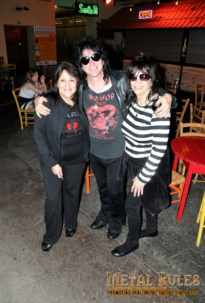 Richie, Joann and Lydia Criss