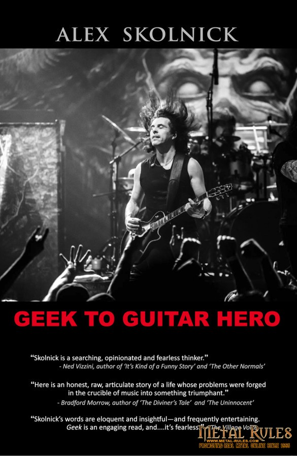 Alex Skolnick- Geek to Guitar Hero Cover