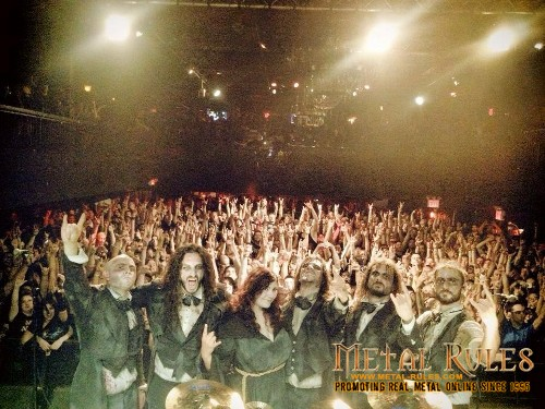 Fleshgod Apocalypse during 2013 U.S. tour