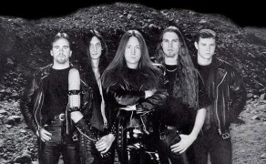HammerFall - Promo photo from around 1997