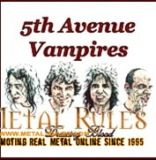 5'th Avenue Vampires: Drawing Blood