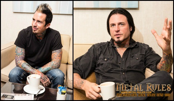 Five Finger Death Punch Interview