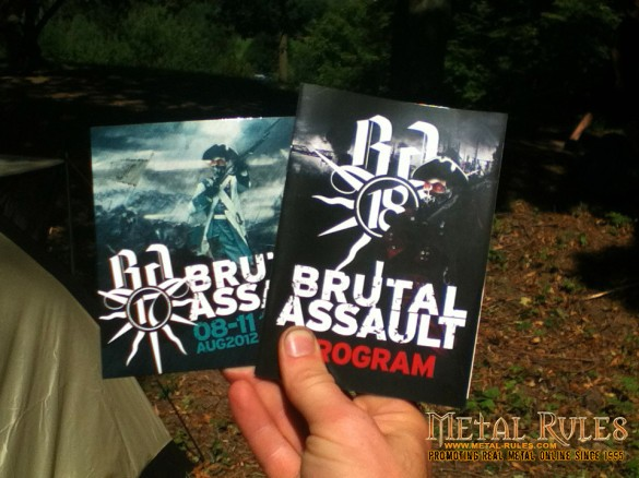 BRUTAL ASSAULT 2013 program guide