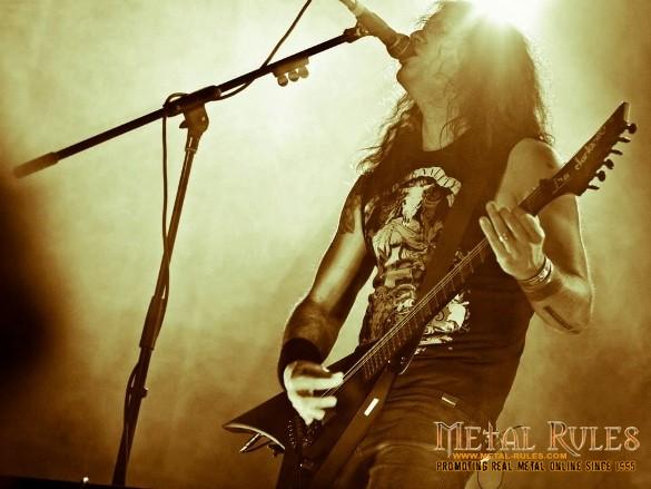 Kreator guitarist/vocalist Mille Petrozza