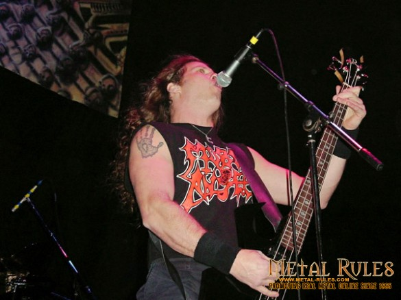MORBID ANGEL: Memorial Coliseum, Portland, OR February 8, 2001