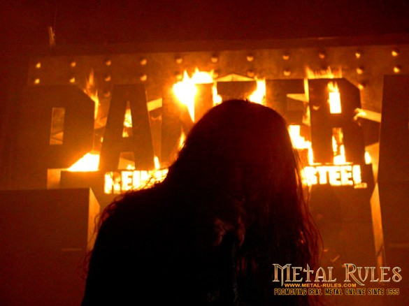 PANTERA: Memorial Coliseum, Portland, OR February 8, 2001