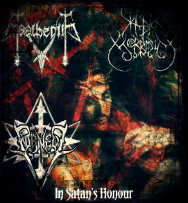 In Satan's Honour-UK Black Metal Split Released!