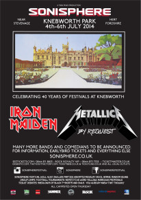 SONISPHERE 2014 - CELEBRATING 40 YEARS OF ROCK AT KNEBWORTH