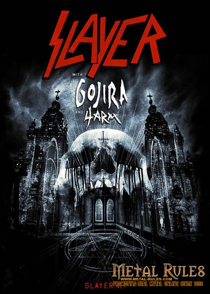 Slayer Tour Poster