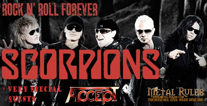 Accept & Scorpions