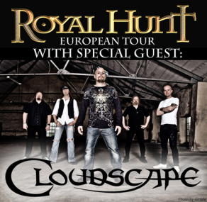 CLOUDSCAPE to support ROYAL HUNT on European tour