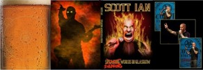 Scott Ian's forthcoming Swearing Words in Glasgow DVD packaging