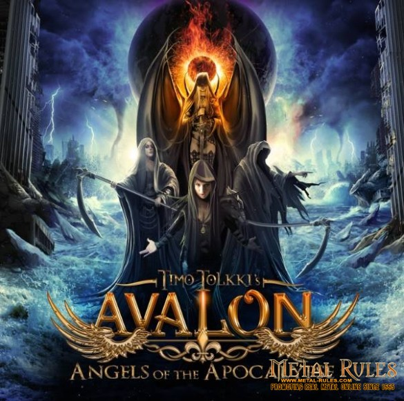 "TIMO TOLKKI'S AVALON to release sophomore album ""Angels of the Apocalypse"" with an amazing cast of singers ! Out in May on Frontiers"
