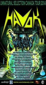 Havok Canada 2014 Tour