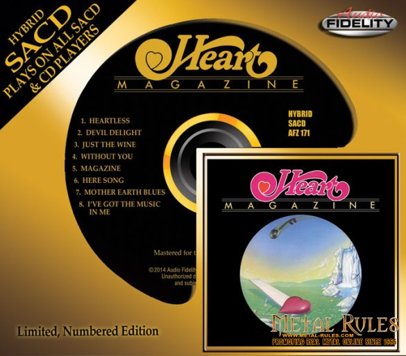 Heart Magazine SACD Mockup