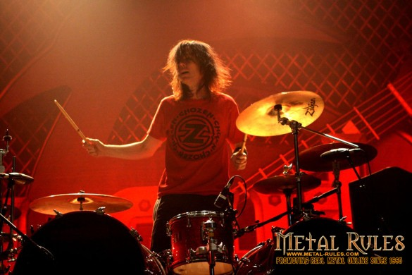 Slaughter/Vince Neil Drummer Zoltan Chaney