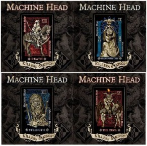 "MACHINE HEAD: Details for ""Killers & Kings"" 10"" Revealed"