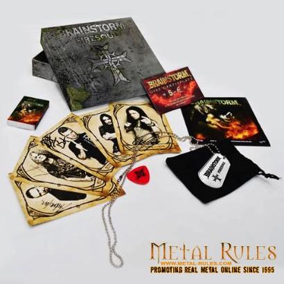 BRAINSTORM - Special Edition Firesoul Album Fanbox Details