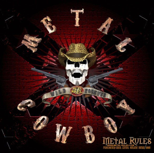 Ron Keel METAL COWBOY CD Cover