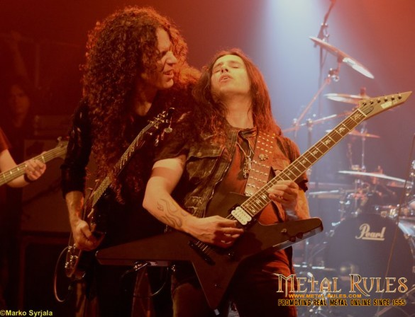 Marty Friedman and Gus G.