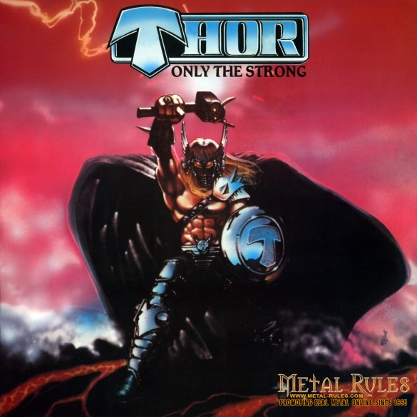 THOR only the strong front cover med res
