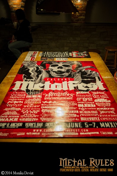 Giant CMF Poster for auction.