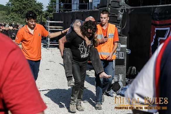 Hellfest Casualty!